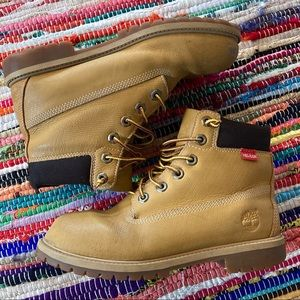 Timberland Helcor Leather Waterproof Boots Size 6